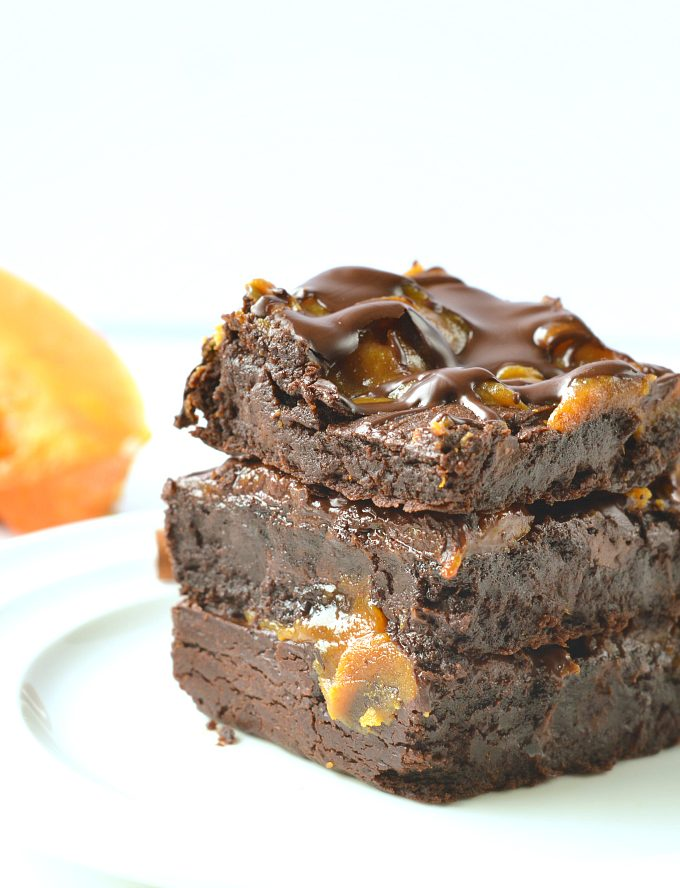paleo pumpkin brownies vegan