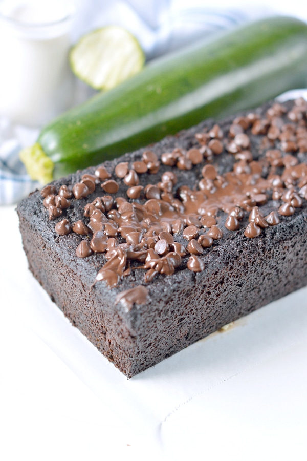 paleo chocolate zucchini bread keto