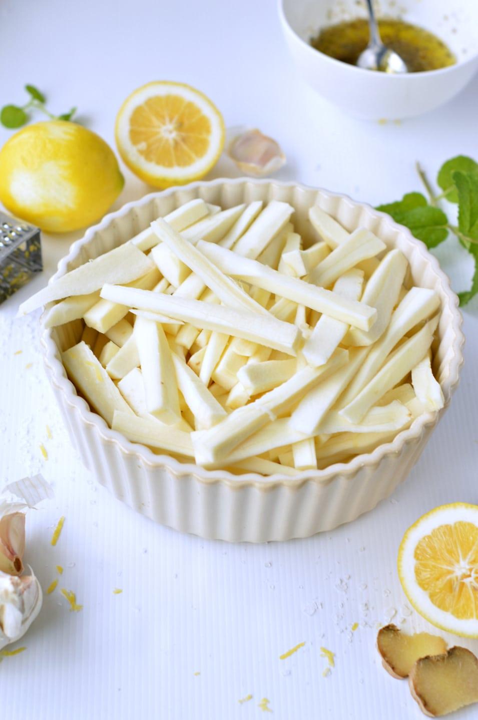 parsnip fries cut