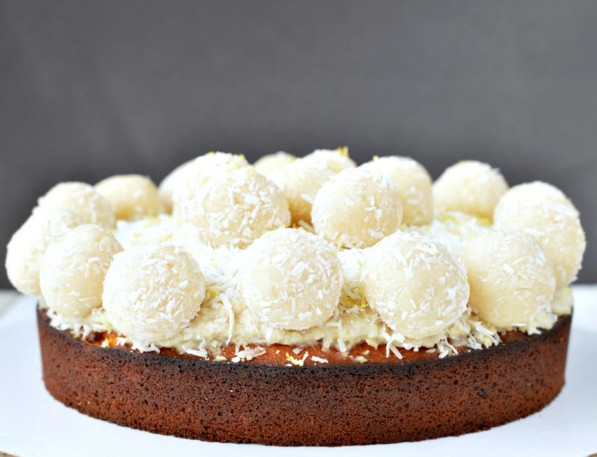 raw lemon coconut truffles