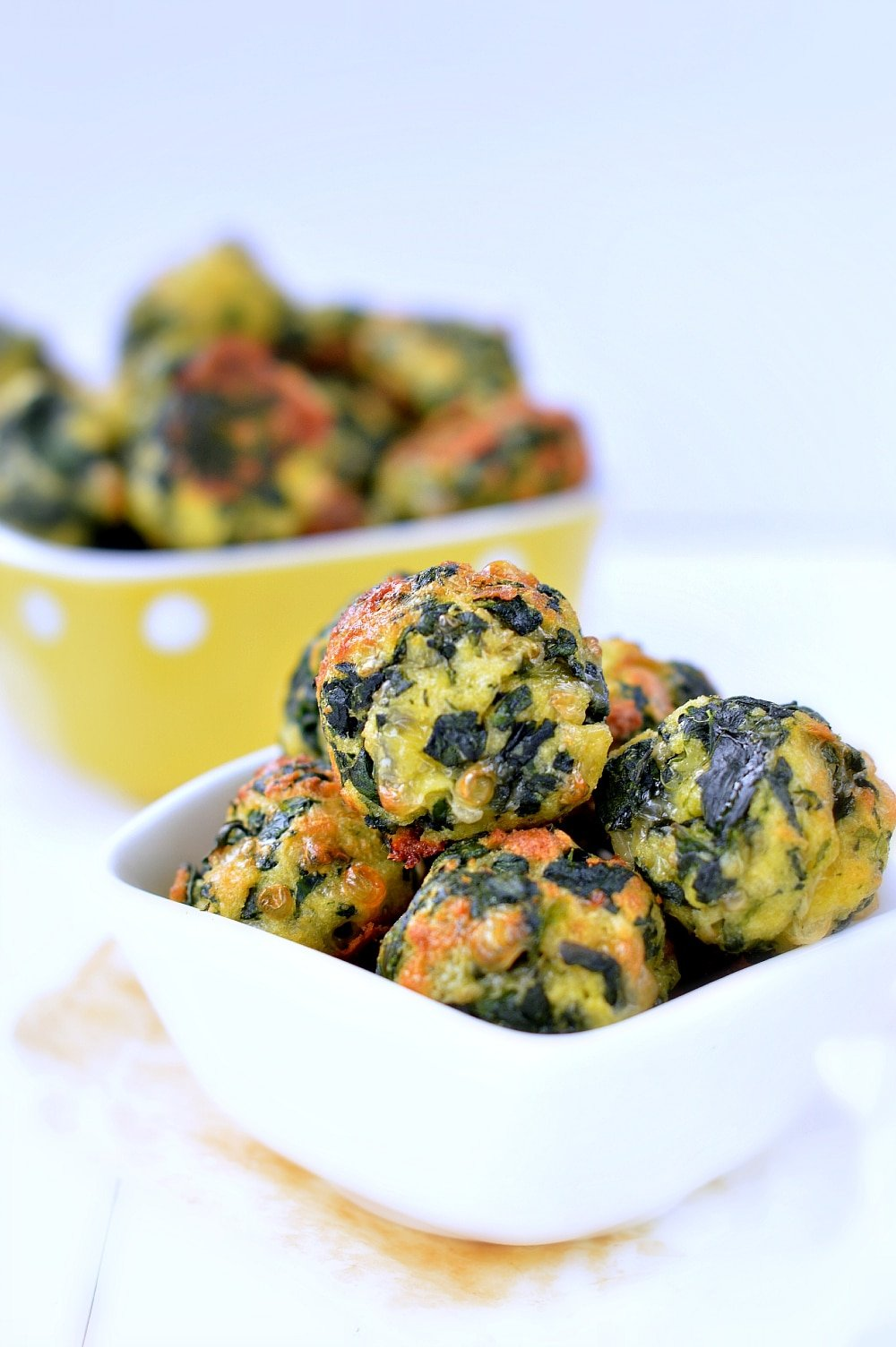Spinach balls healthy appetizer