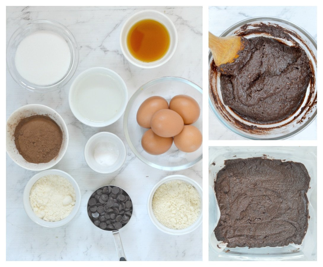 sugar free brownies ingredients