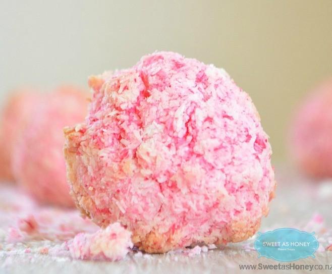 sugar free coconut snowball cookies