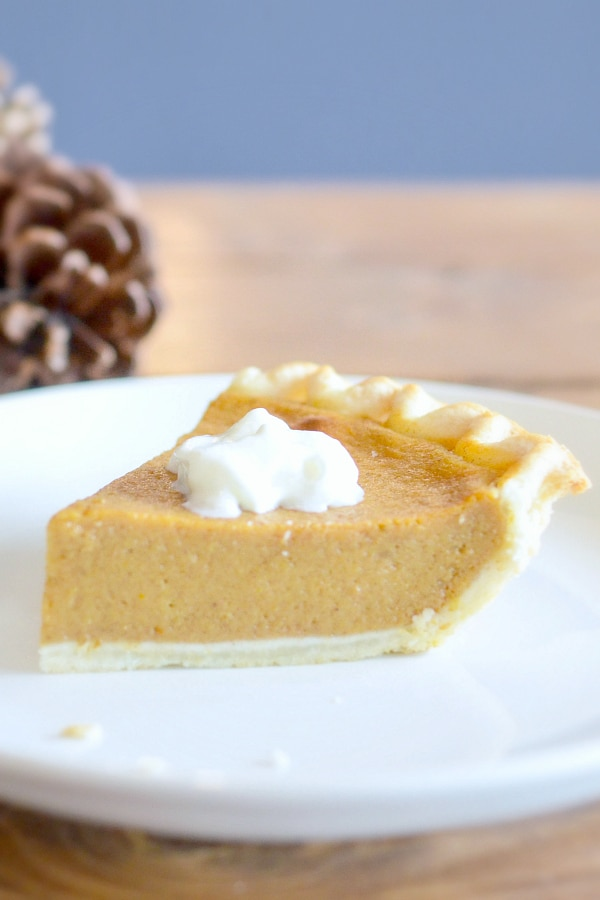 sugar free pumpkin pie keto low carb