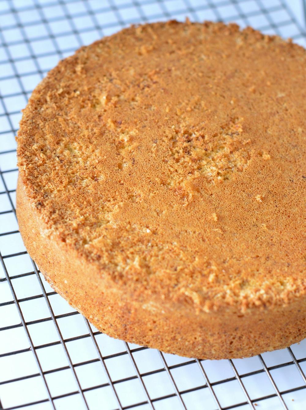 Swerve Vanilla Cake