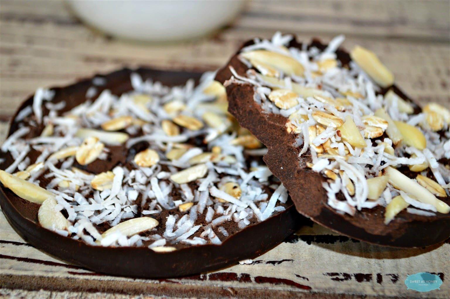 Sugar Free Chocolate Chips or Bars - Sweetashoney