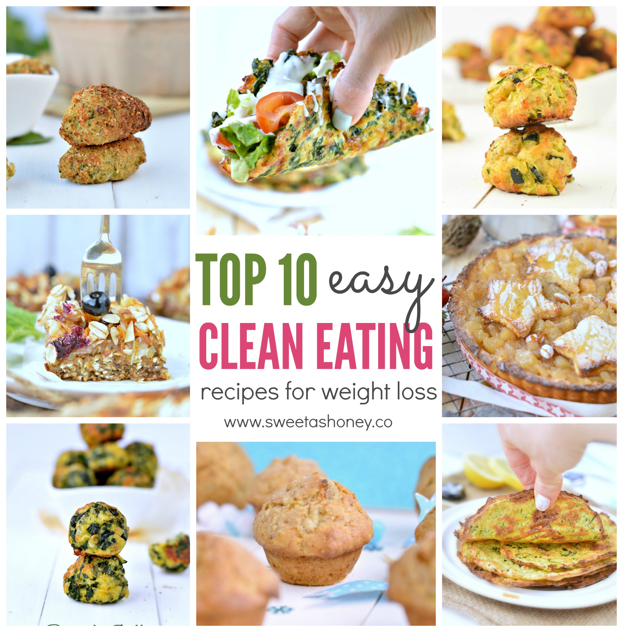 eating clean to lose weight recipes