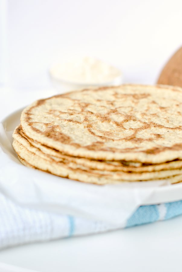 Gluten free tortillas with coconut flour