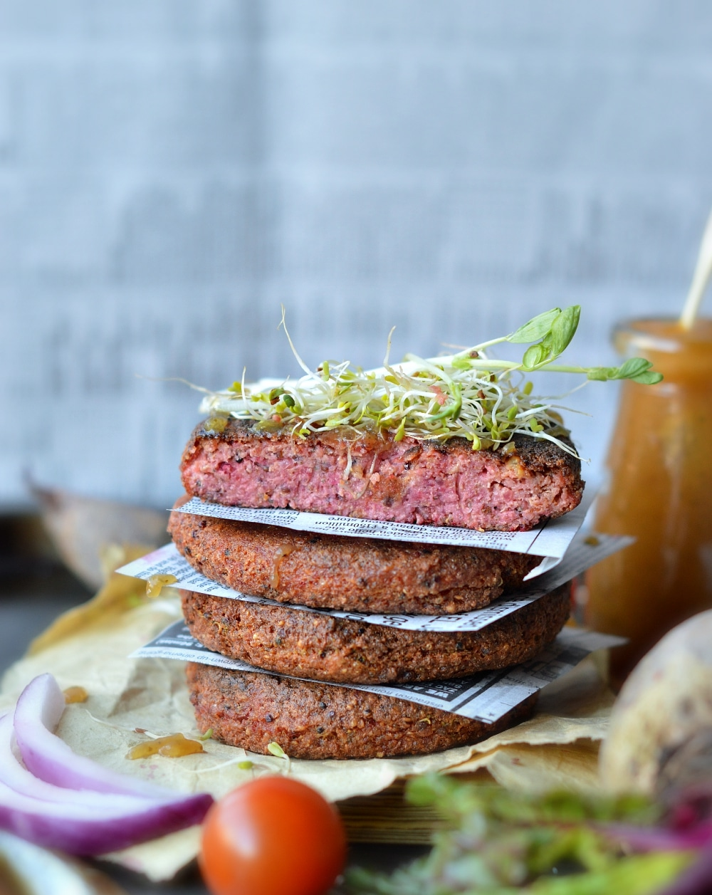 vegan burger patties recipe