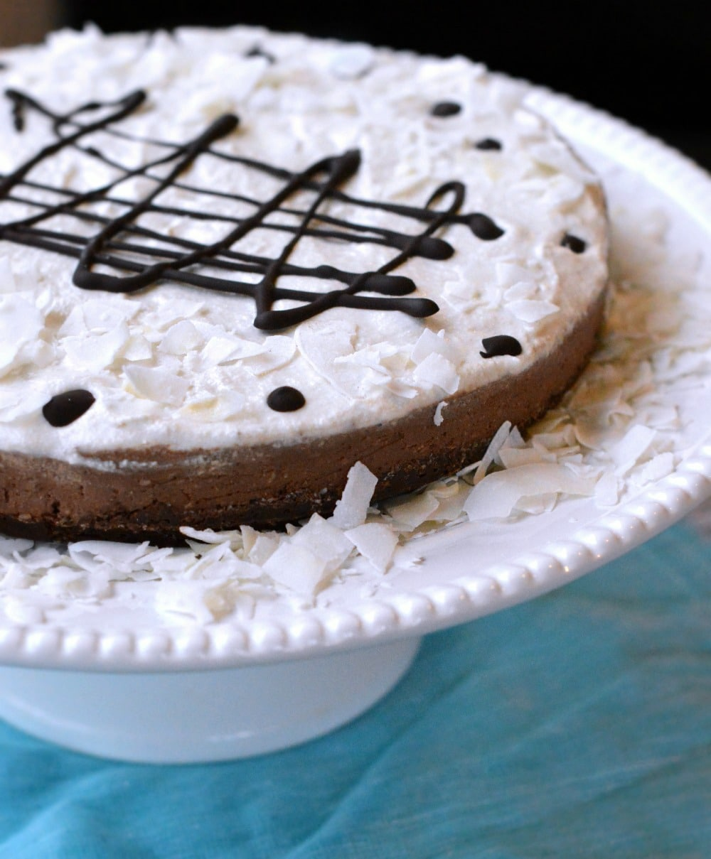 raw chocolate coconut cake sweetashoney