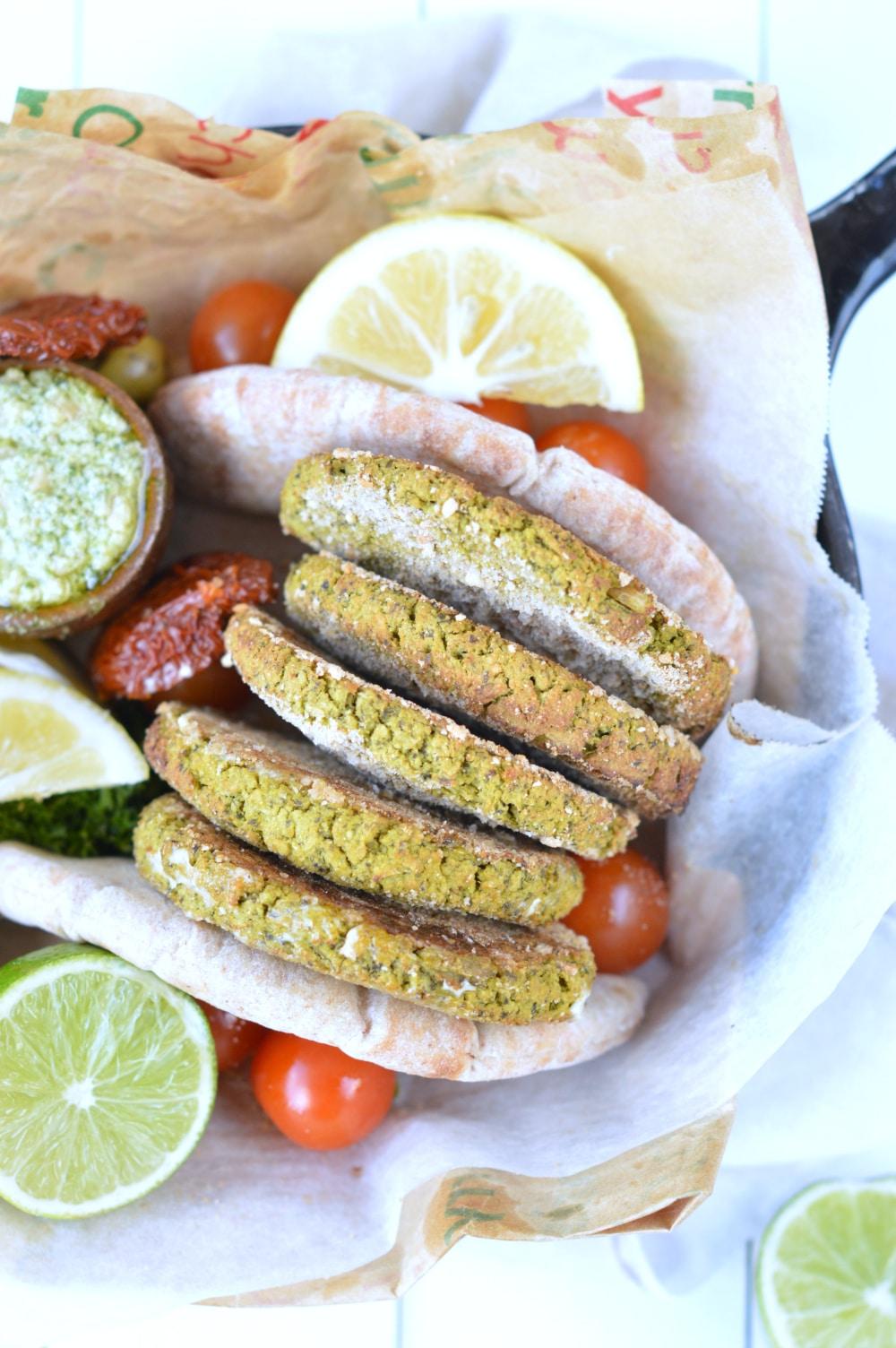 vegan falafel