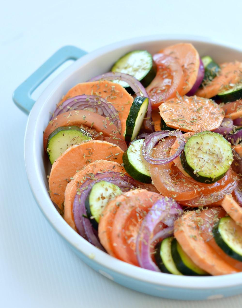 vegetable gratin healthy