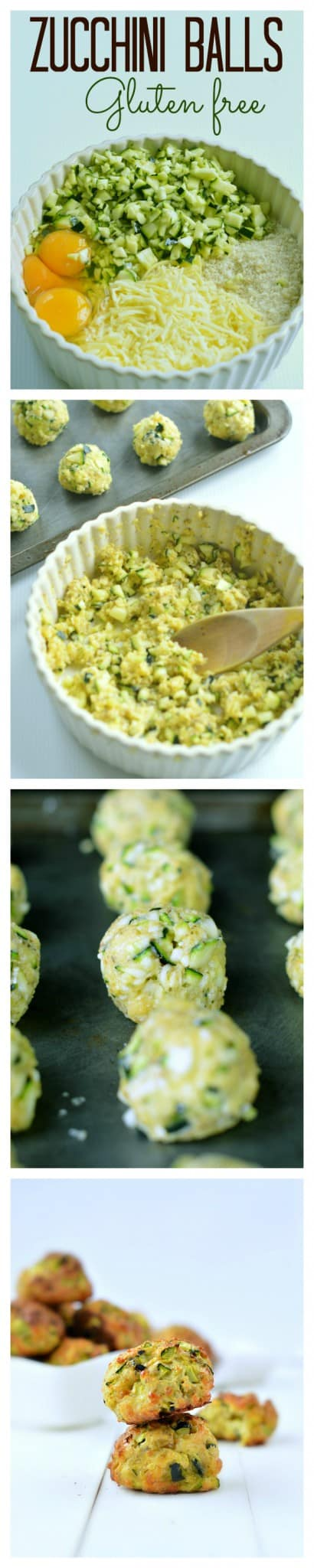 zucchini balls steps by steps