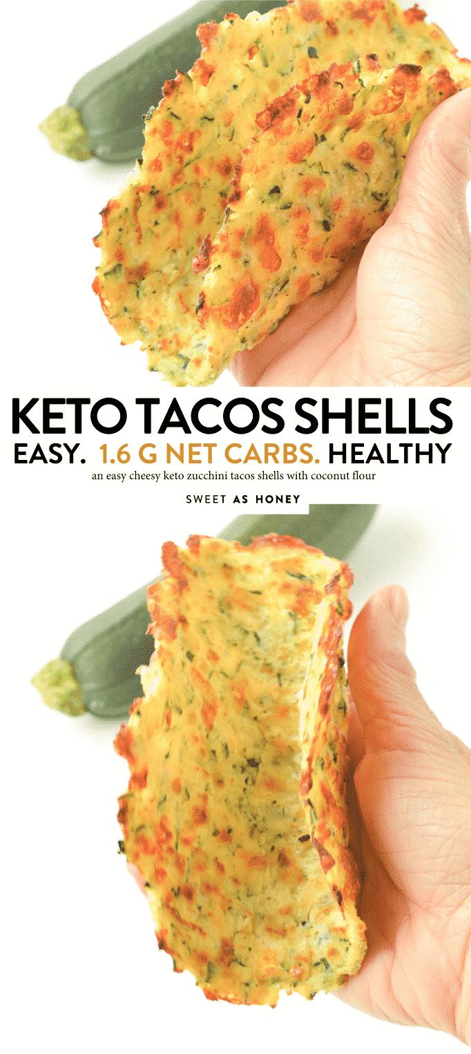 KETO ZUCCHINI TACOS SHELLS with Cheese and coconut flour 1.6 g net carbs #cheese #ketotacoshells #lowcarb #tortillas #cheddar #mozzarella #coconutflour #easy #videos #crispy #healthy #vegan